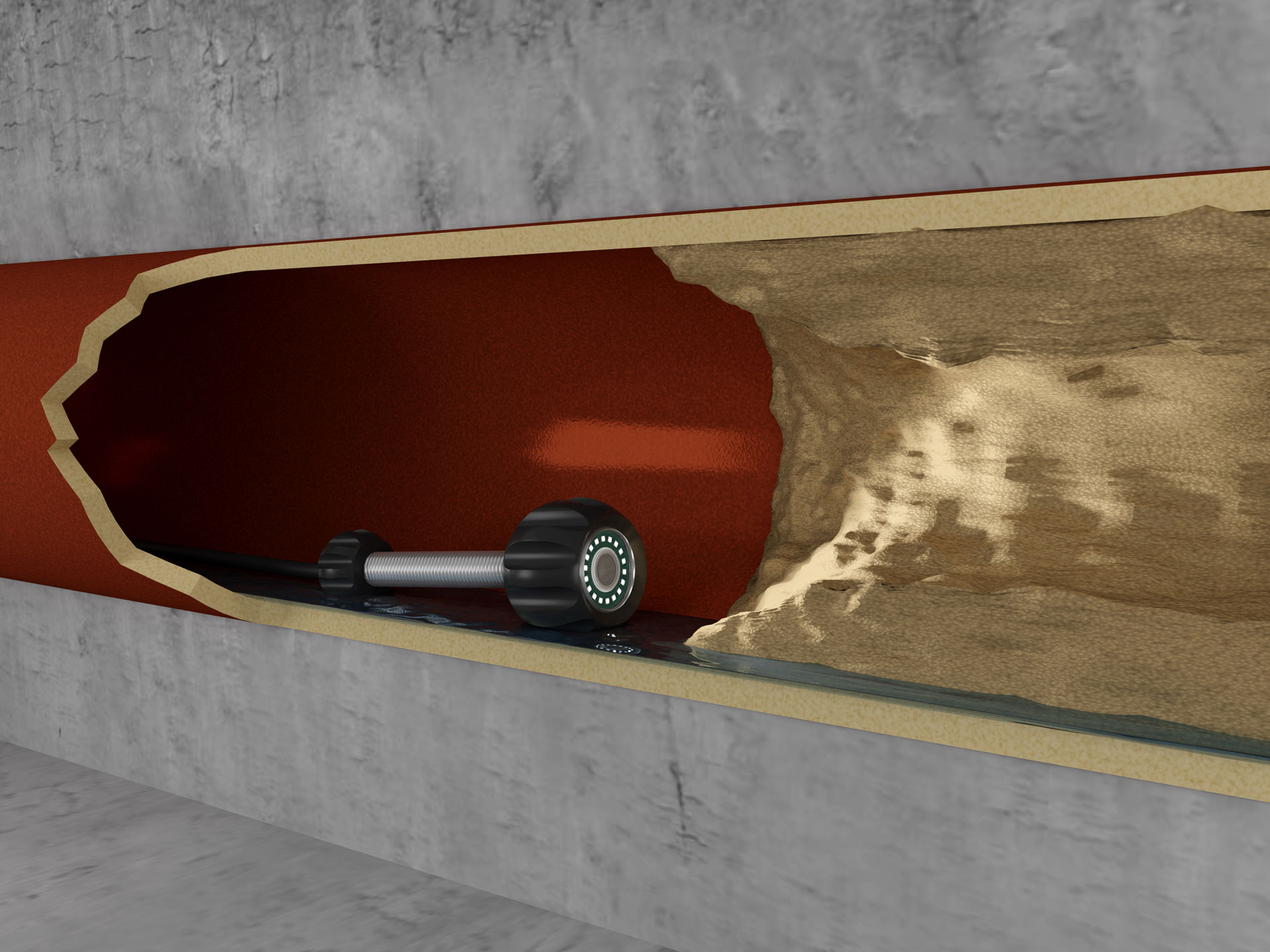 kamerabefahrung rohrleitung, abfluss verstopfung Rohrreinigung Kanalreinigung Kanalsanierung